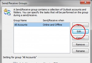 Outlook Kontakt bearbeiten