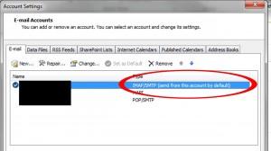 Outlook-Sendenkonto