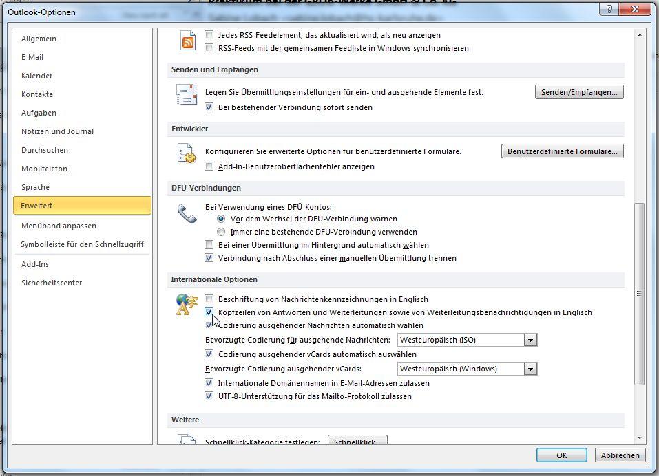 Wie Man Antworten In Outlook Mit Re Kennzeichnen Lassen