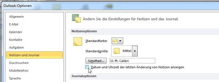 Wie man Datum und Uhrzeit in Notizen abschaltet und Standardoptionen ändert