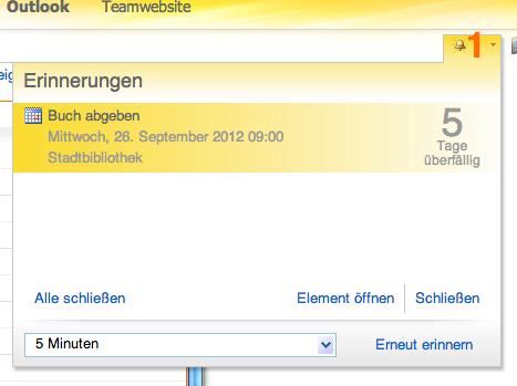 Wie man in Outlook 365 einen Termin erstellt