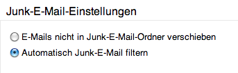 Wie man Spam in Outlook 365 verwaltet