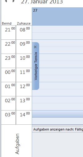 Wie man in Outlook 2010 mit verschiedenen Zeitzonen arbeitet