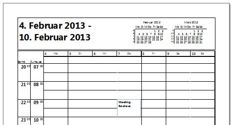 Wie man in Outlook 2010 nur bestimmte Termine ausdruckt