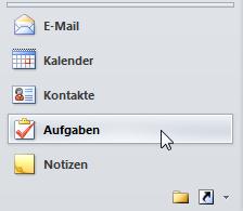 Wie man Outlook Aufgaben schnell erstellt