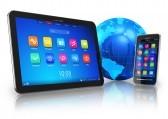 11907275-drahtlose-kommunikation-konzept-tablet-pc-und-touchscreen-smartphone-mit-blauen-erdkugel-in-weissen-