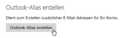 Hotmail Alias Erstellen