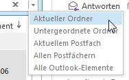 Wie man in Outlook 2013 schnell sucht und findet