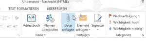 Datei anfügen