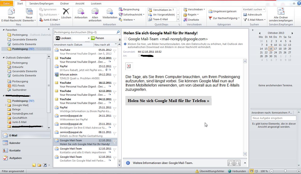 Was ist neu in Outlook 2010? Die Oberfläche