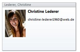Wie man in Outlook 2010 Kontaktbilder hinzufügt