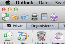 Outlook für Mac im Vergleich zur Windows-Version