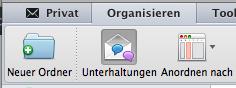 Neue Ordner in Outlook für Mac erstellen