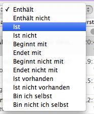 Emails eines bestimmten Absenders in Outlook für Mac löschen