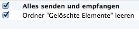 Automatisches Löschen in Outlook für Mac