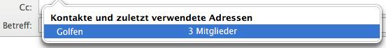 Outlook für Mac: Verteilerlisten erstellen