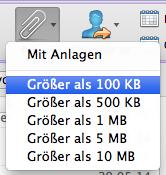 Outlook für Mac: Nach ganz bestimmten Emails suchen