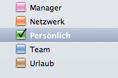 Alles gut sortiert: Kategorien in Outlook für Mac