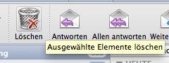 Weg damit! Emails löschen in Outlook für Mac