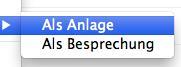 Mehrere Emails in Outlook für Mac als Anhang versenden