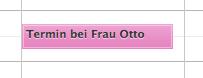 Termine in Outlook für Mac farbig markieren