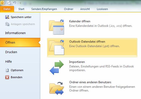 Ordnung schaffen: Outlook E-Mails archivieren