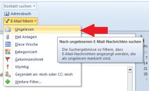 E-Mails filtern