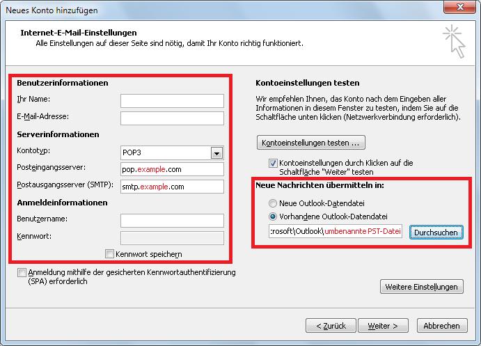 Wie man Outlook PST-Archive zusammenführen kann