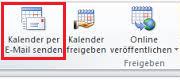 Outlook Kalender freigeben – so geht's