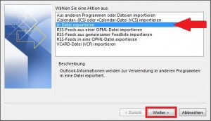 Kontakte in Datei exportieren